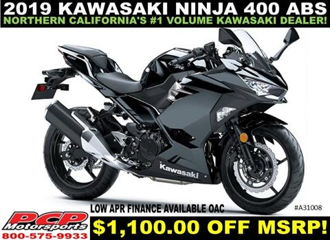 2019 Kawasaki Ninja 400 ABS in Sacramento, California