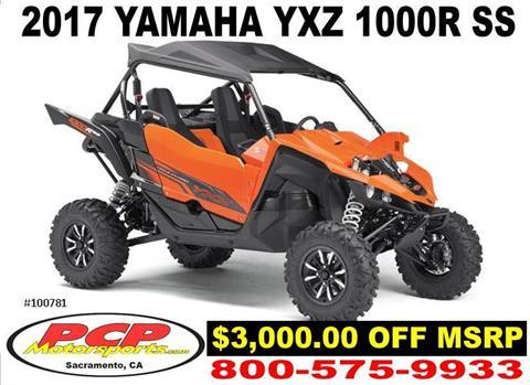 2017 Yamaha YXZ1000R SS in Sacramento, California