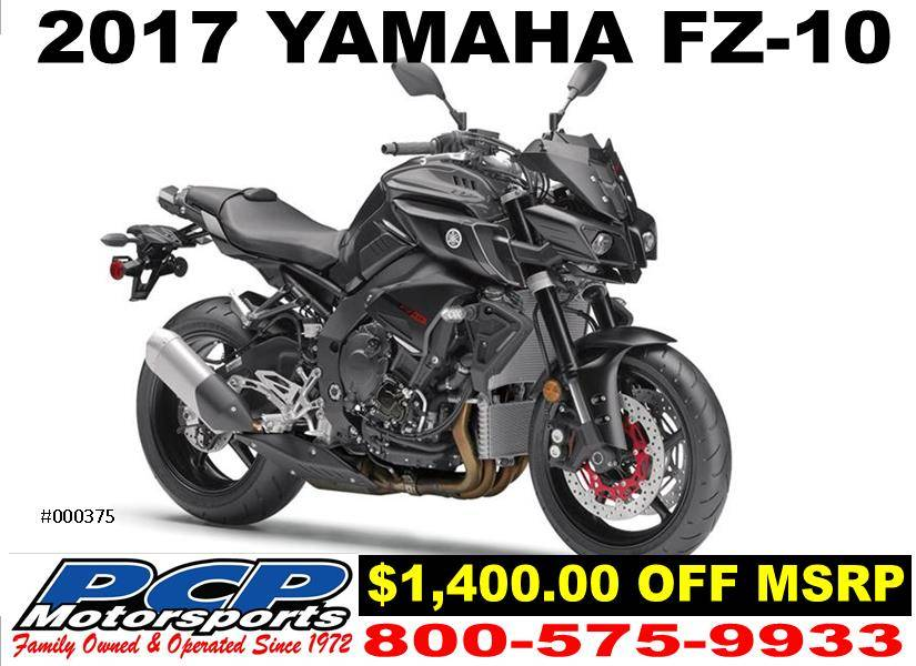 2017 Yamaha FZ-10 1