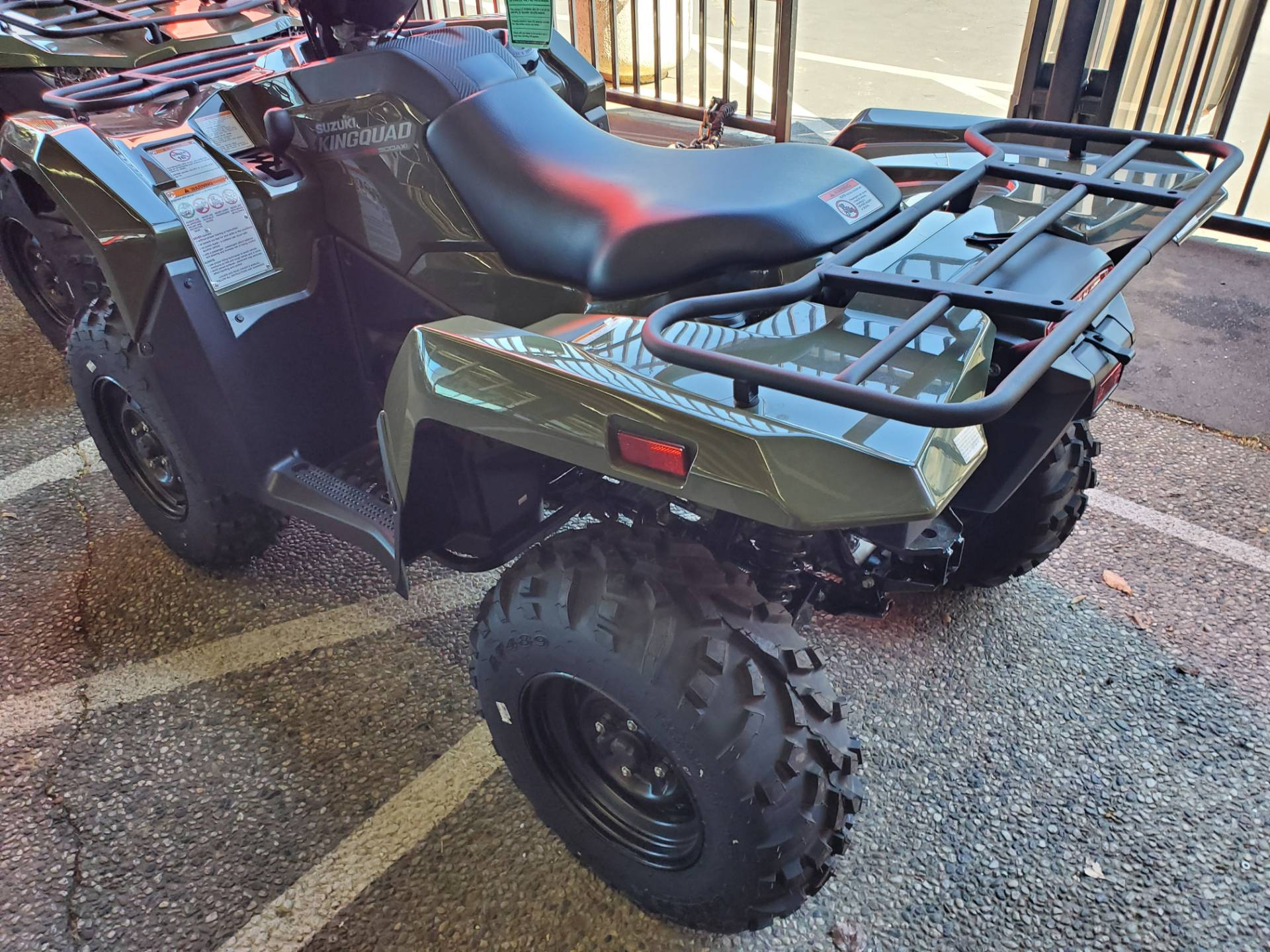 2020 Suzuki KingQuad 500AXi Power Steering in Sacramento, California - Photo 3