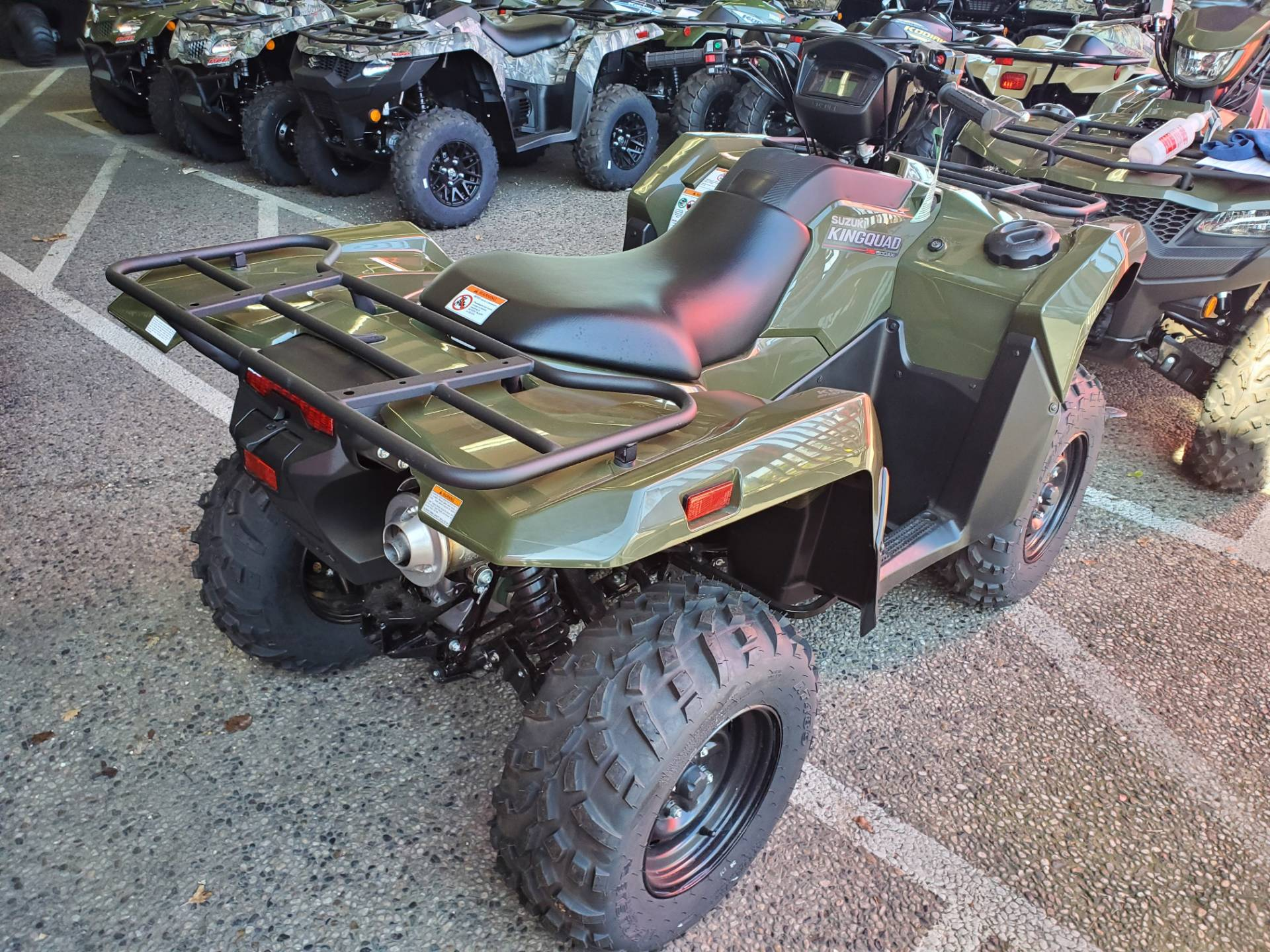 2020 Suzuki KingQuad 500AXi Power Steering in Sacramento, California - Photo 4