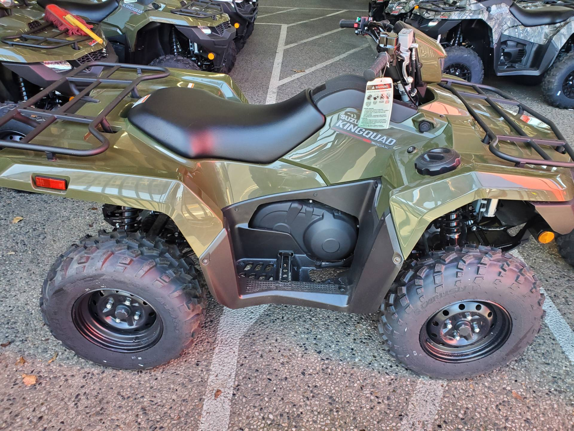 2020 Suzuki KingQuad 500AXi Power Steering in Sacramento, California - Photo 5