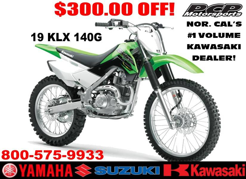 2019 Kawasaki KLX 140G in Sacramento, California - Photo 1