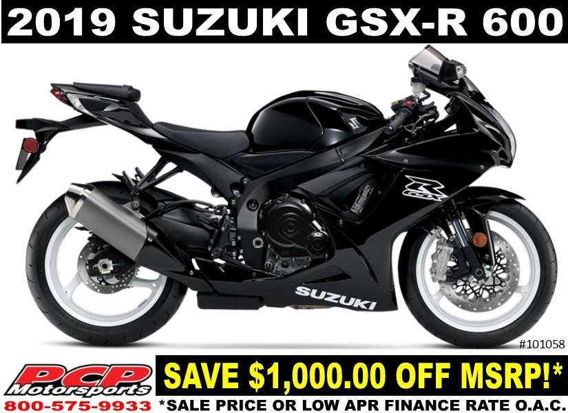 2019 Suzuki GSX-R600 in Sacramento, California - Photo 1