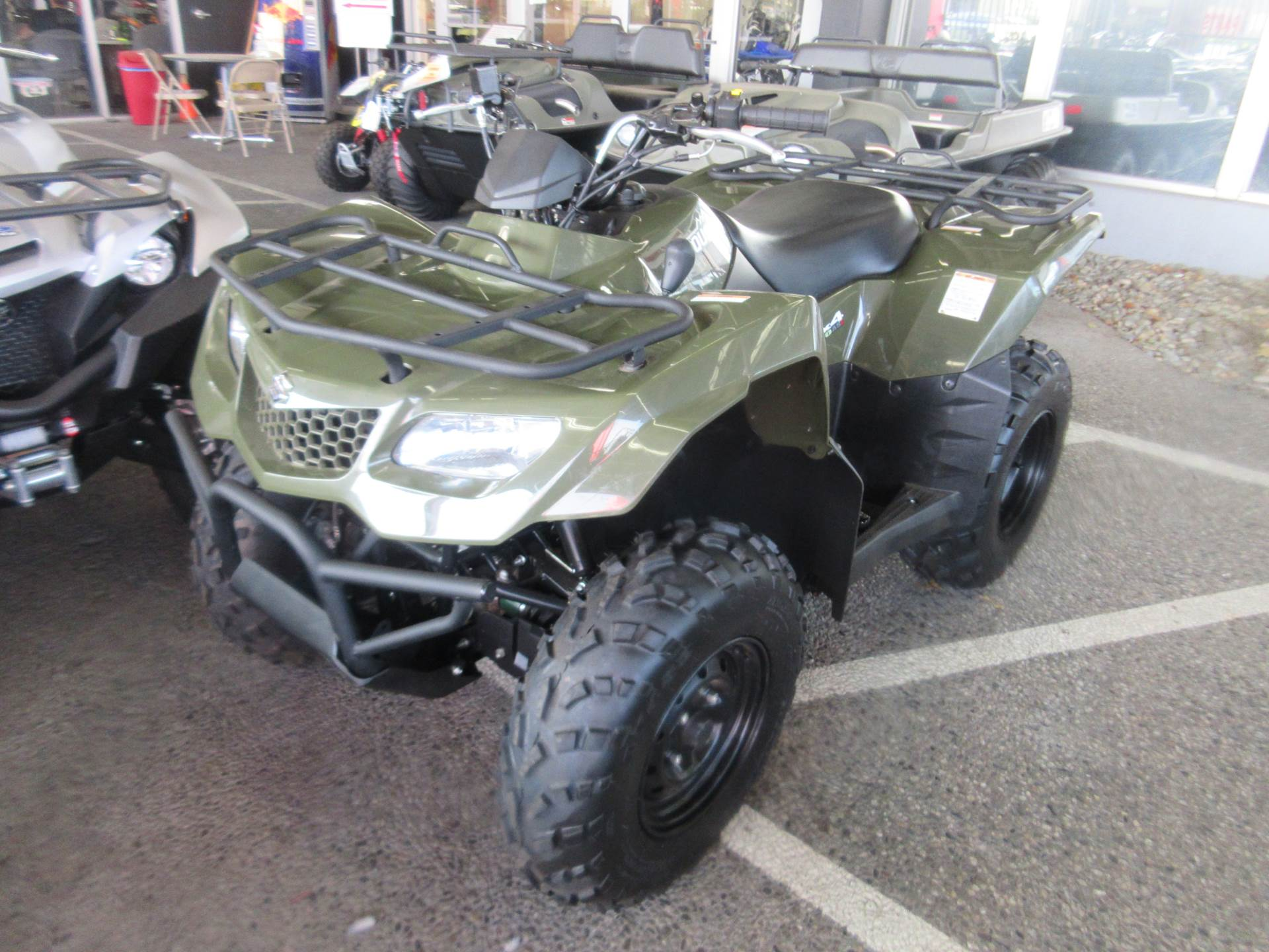2018 Suzuki KingQuad 400ASi in Sacramento, California - Photo 1