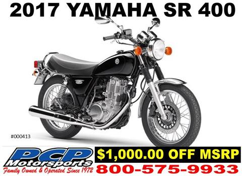 2017 Yamaha SR400 in Sacramento, California