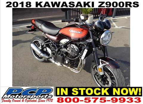 2018 Kawasaki Z900RS in Sacramento, California
