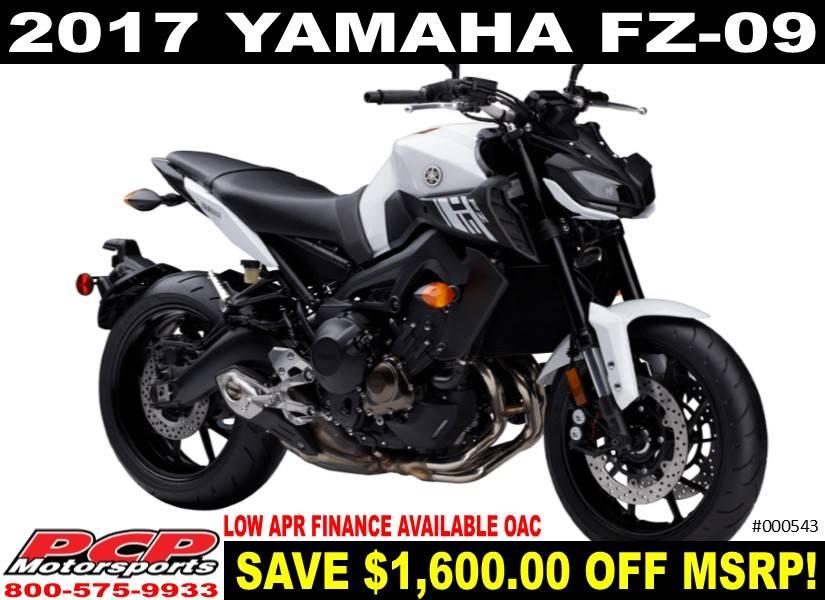 2017 Yamaha FZ-09 for sale 67375
