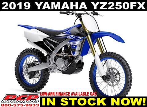2019 Yamaha YZ250FX in Sacramento, California