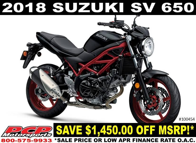 2018 Suzuki SV650 for sale 17018
