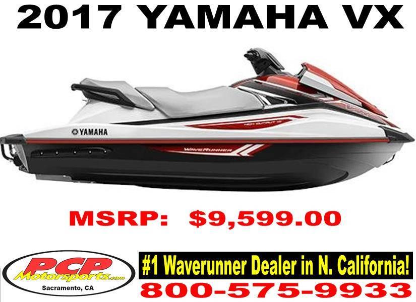 2017 Yamaha VX 1