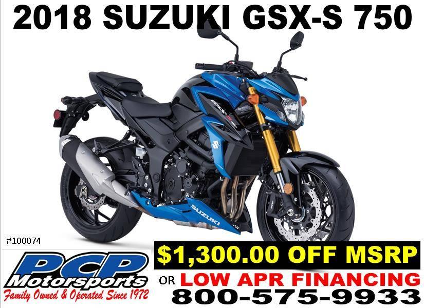 2018 Suzuki GSX-S750 for sale 107796