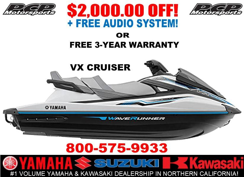 2019 Yamaha VX Cruiser in Sacramento, California - Photo 1