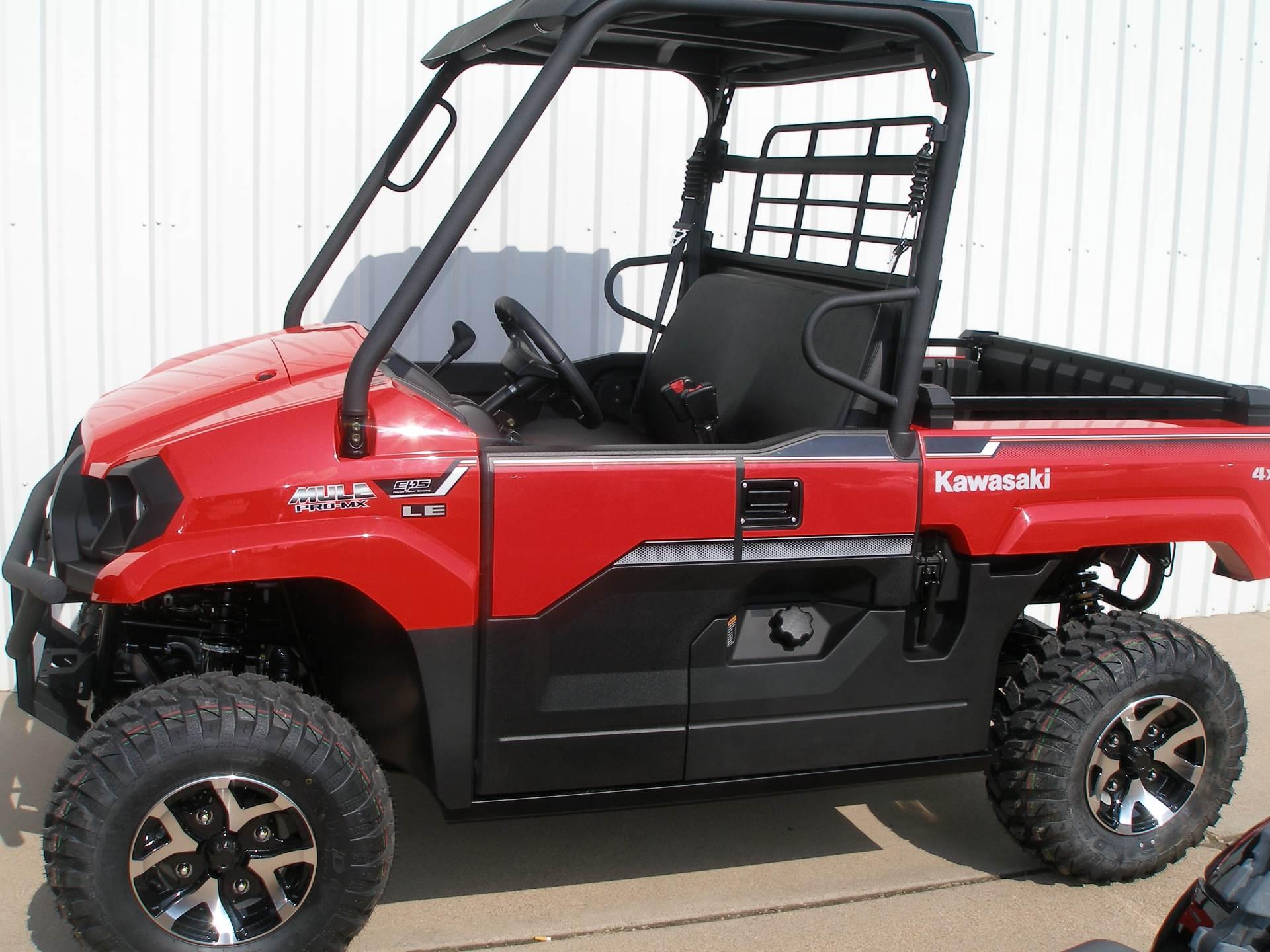 2019 Kawasaki Mule PRO-MX EPS LE in Abilene, Texas