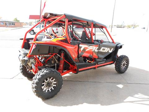 2020 Honda Talon 1000X-4 FOX Live Valve in Abilene, Texas - Photo 2