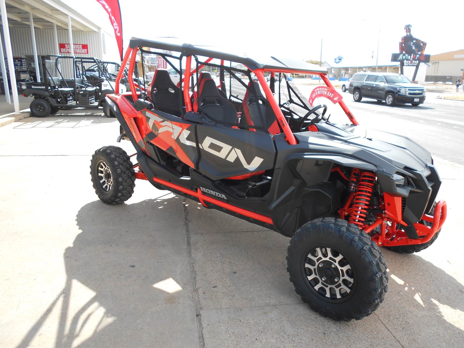 2020 Honda Talon 1000X-4 FOX Live Valve in Abilene, Texas - Photo 3