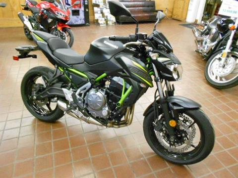 2019 Kawasaki Z650 ABS in Abilene, Texas