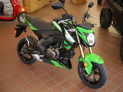 2018 Kawasaki Z125 Pro KRT Edition in Abilene, Texas