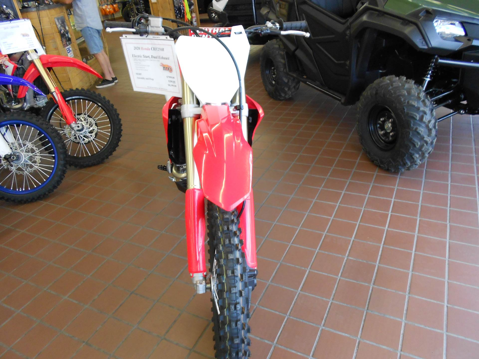 2020 Honda CRF250R in Abilene, Texas - Photo 4