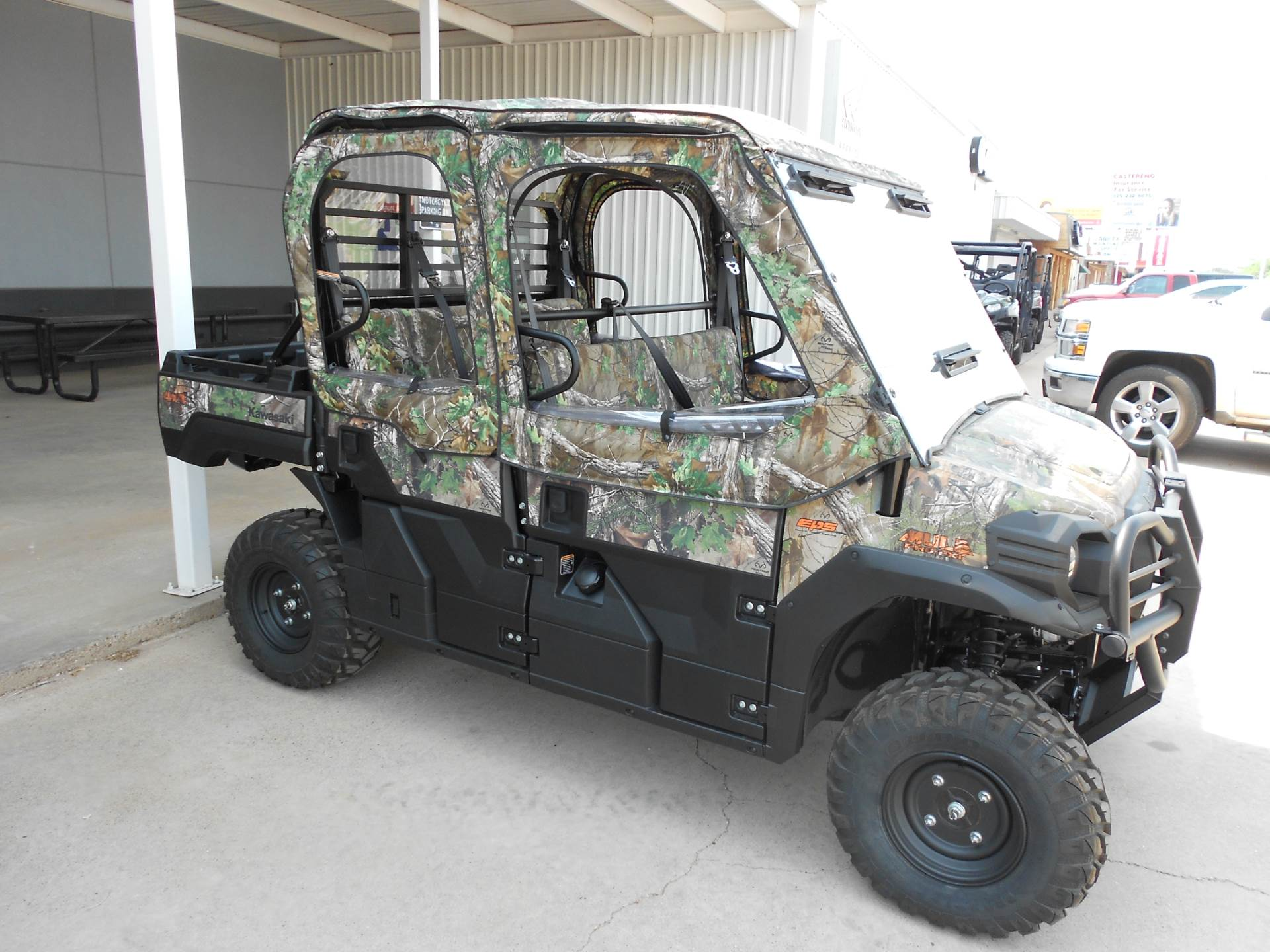 2019 Kawasaki Mule PRO-FXT EPS Camo for sale 10893