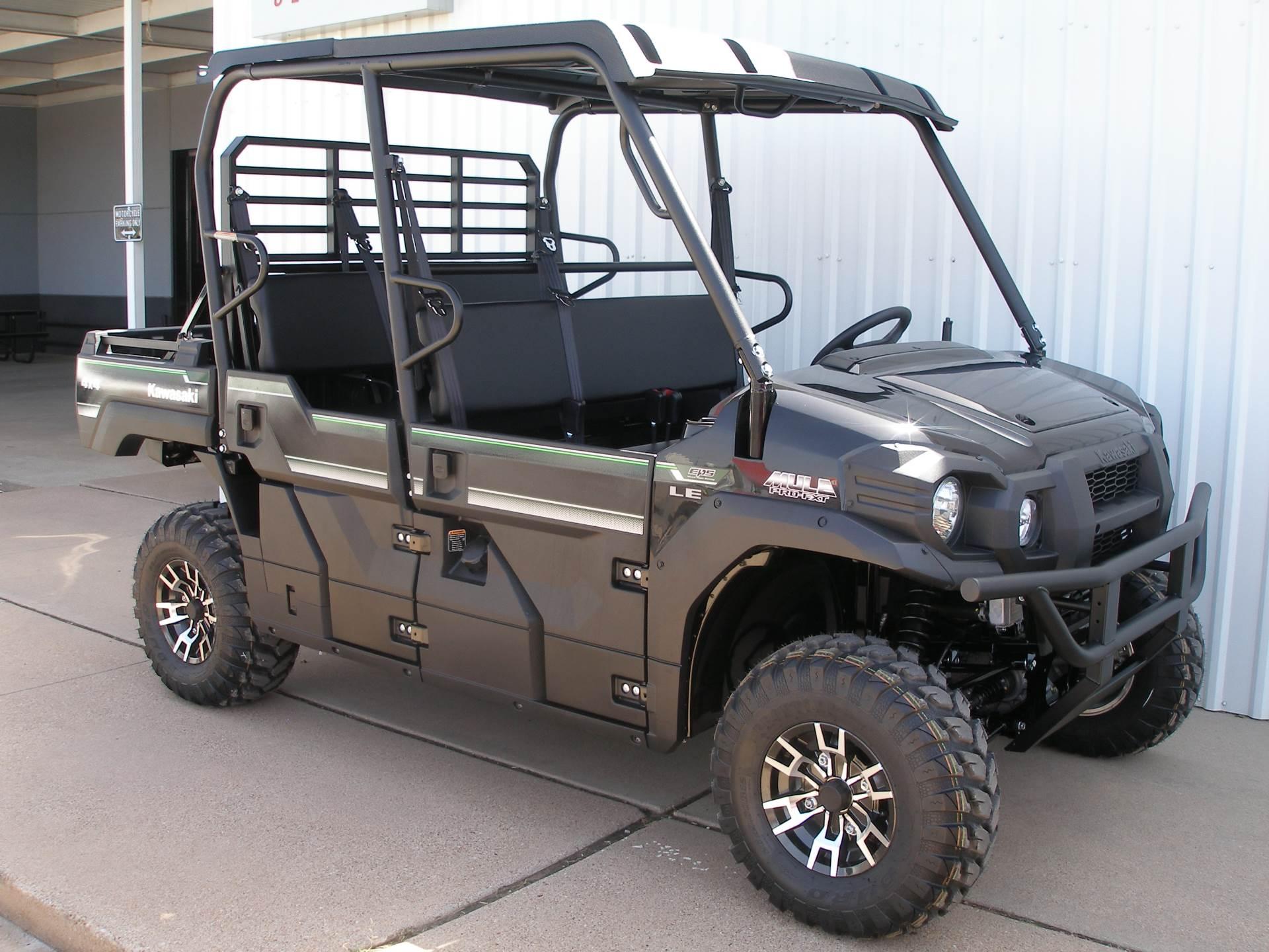 2019 Kawasaki Mule PRO-FXT EPS LE in Abilene, Texas