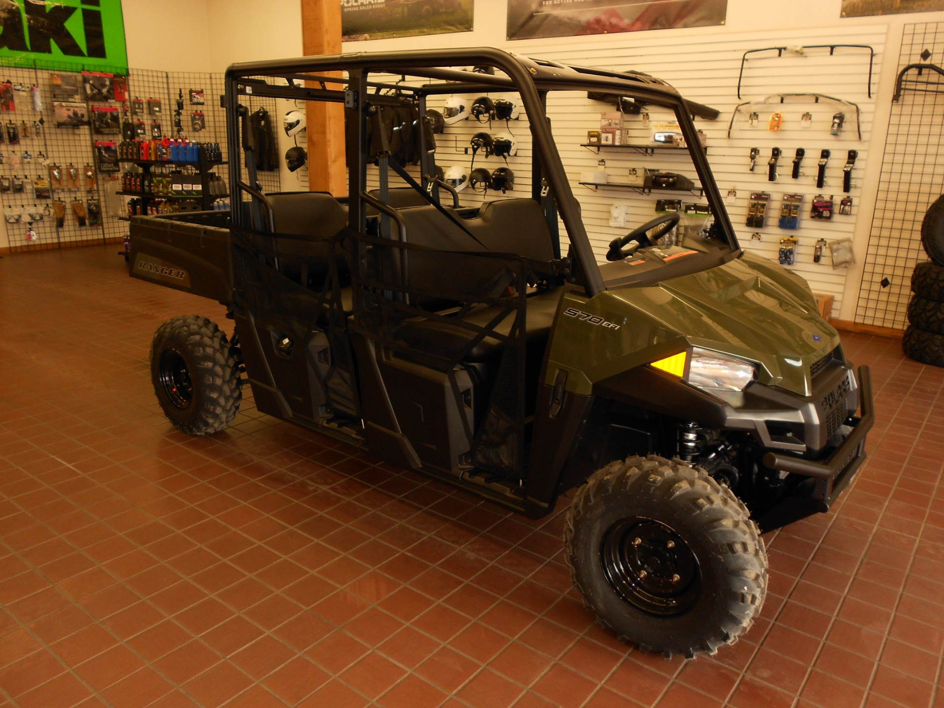 2021 Polaris Ranger Crew 570 in Abilene, Texas - Photo 3