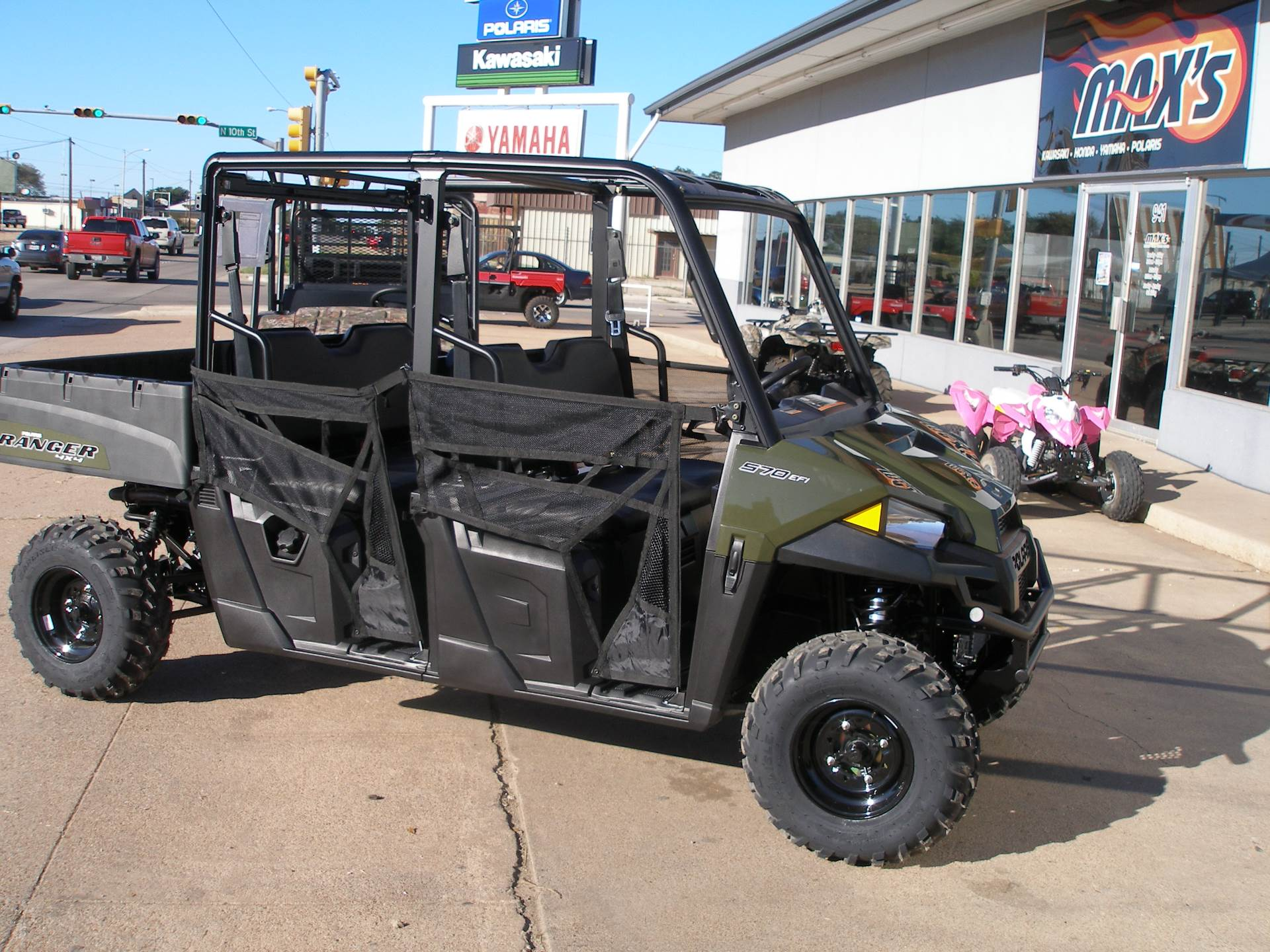 2019 Polaris Ranger Crew 570-4 for sale 3665