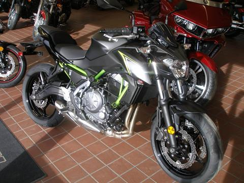 2018 Kawasaki Z650 ABS in Abilene, Texas