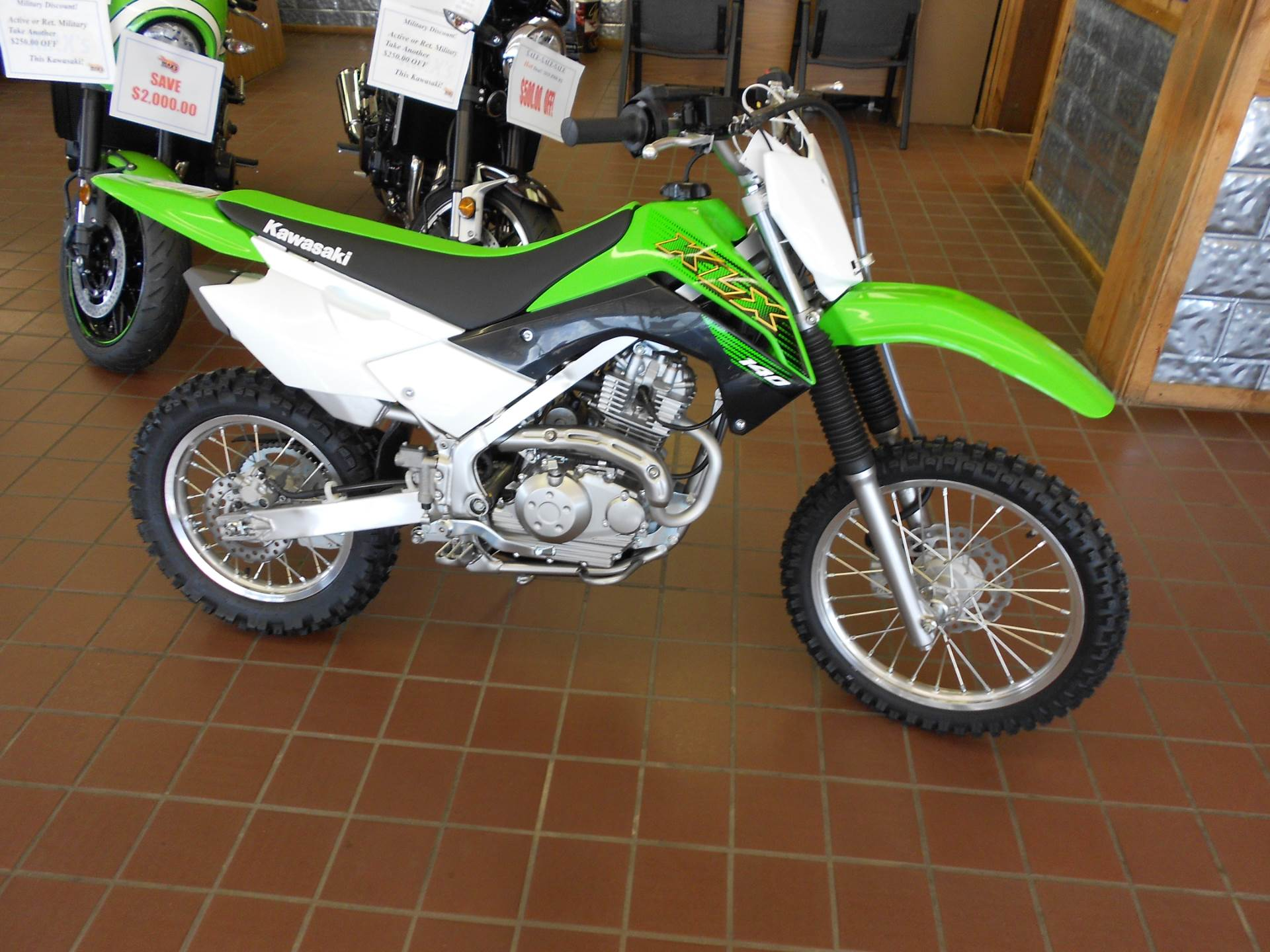 2020 Kawasaki KLX 140 in Abilene, Texas - Photo 1