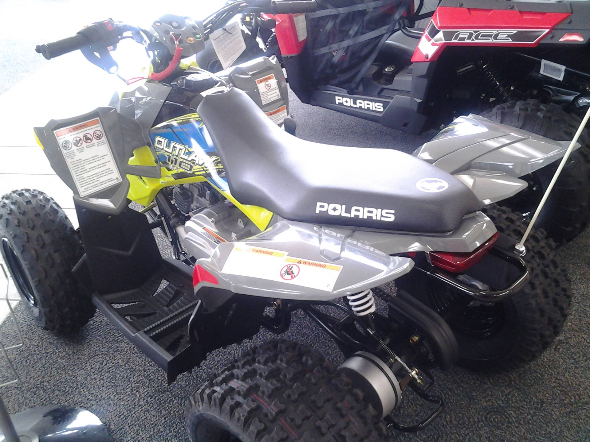 2017 Polaris Outlaw 110 in Lagrange, Georgia