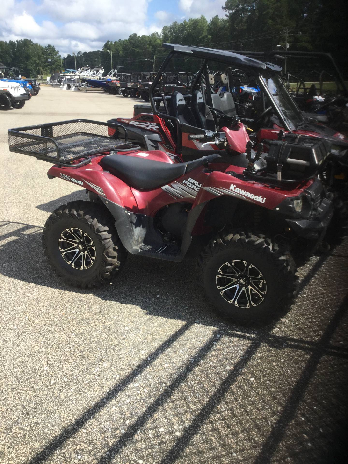 2011 Kawasaki Brute Force 750 4x4i for sale 14529