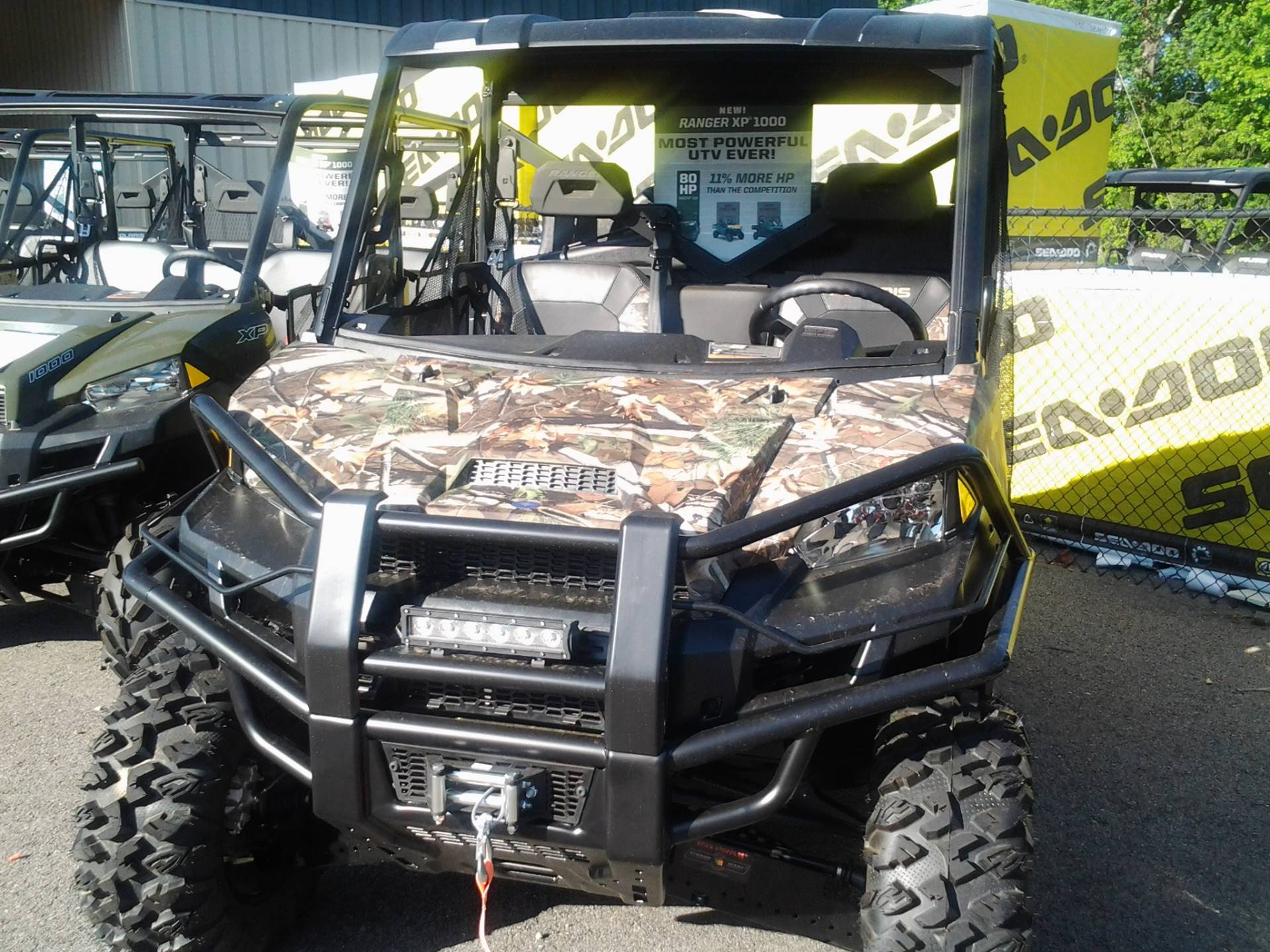 2017 Polaris Ranger XP 1000 EPS Hunter Edition in Lagrange, Georgia