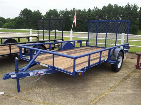 2021 TEXAS BRAGG TRAILERS  6 X 14 SINGLE AXLE UTILITY TRAILER in Lagrange, Georgia