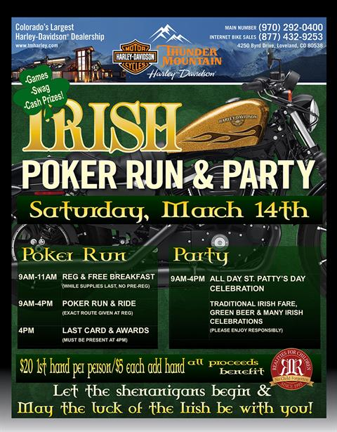 Irish Poker Run & Party