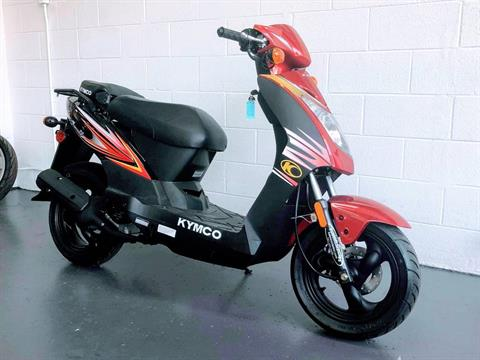 2018 Kymco Agility 50 in Virginia Beach, Virginia