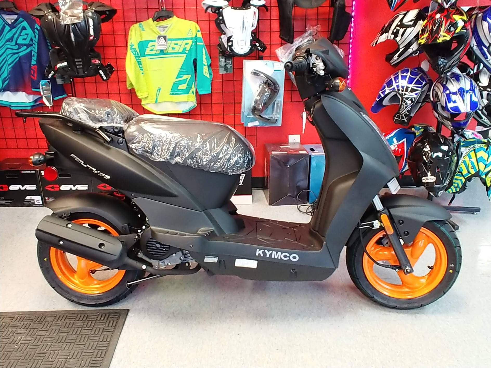 2019 Kymco Agility 50 in Virginia Beach, Virginia - Photo 4