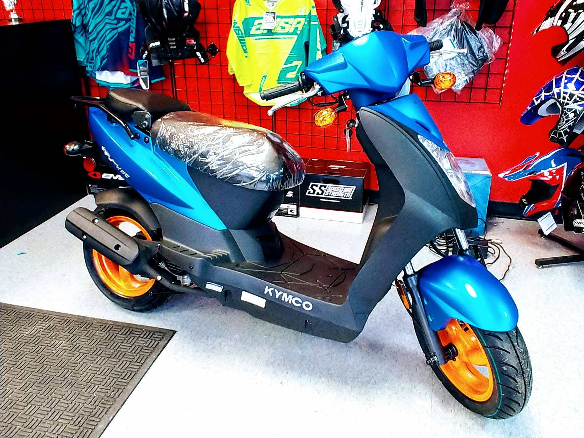 2019 Kymco Agility 50 in Virginia Beach, Virginia - Photo 1