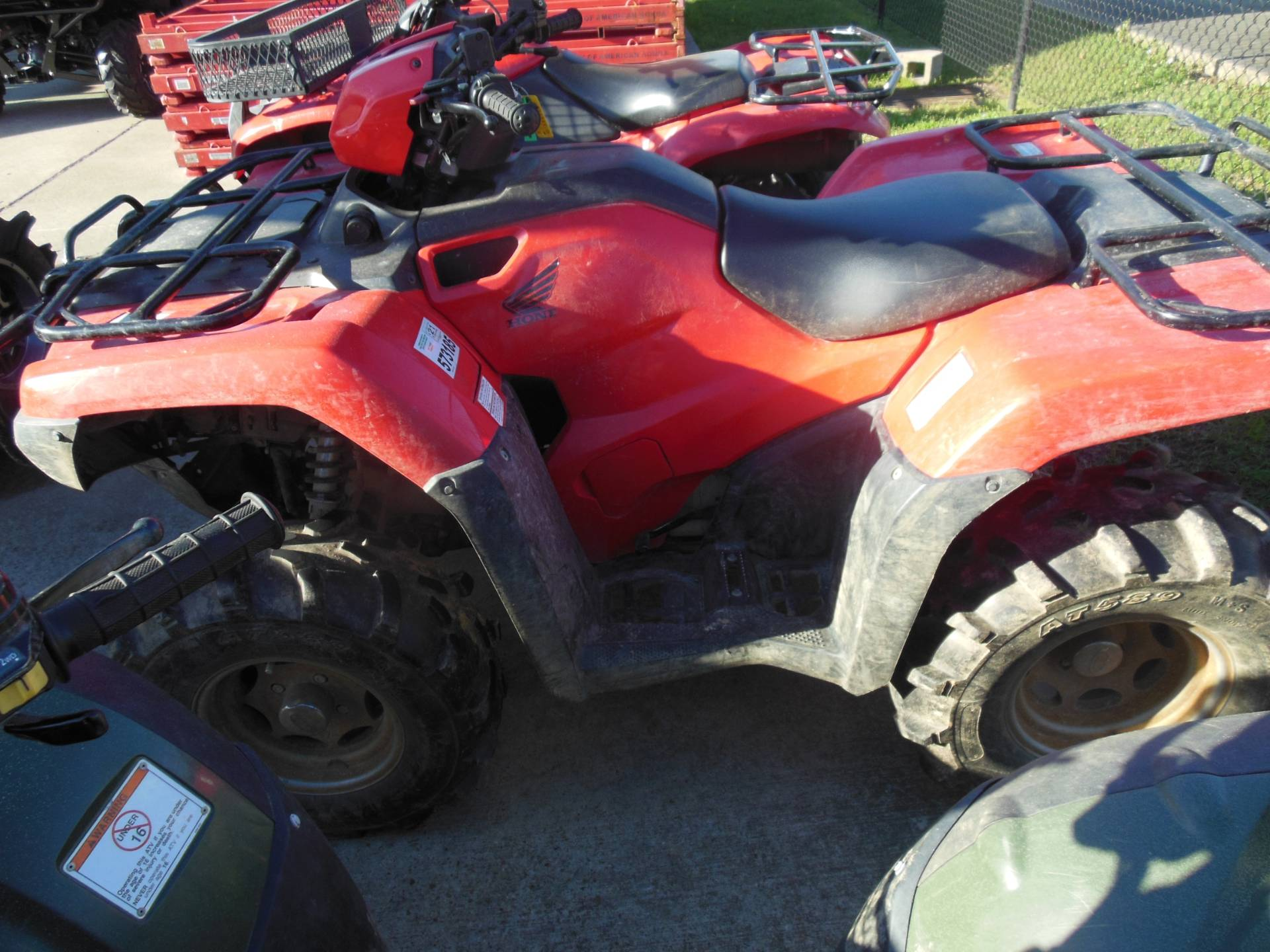 2016 Honda FourTrax Foreman 4x4 Power Steering in Brookhaven, Mississippi