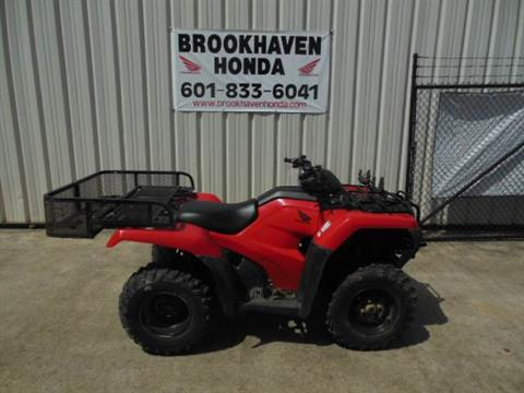 2016 Honda FourTrax Rancher 4x4 in Brookhaven, Mississippi