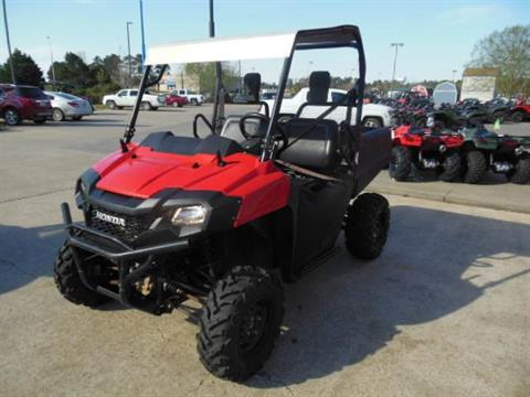 2017 Honda Pioneer 700 in Brookhaven, Mississippi