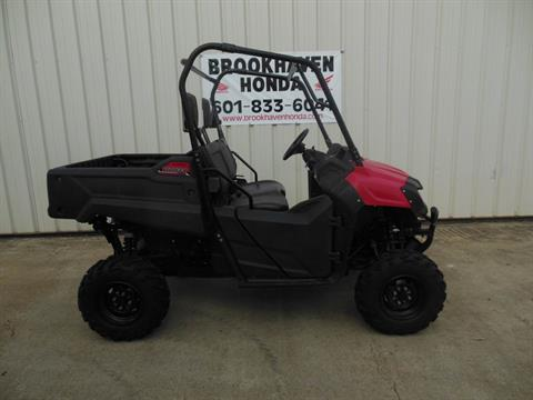 2016 Honda Pioneer 700 in Brookhaven, Mississippi