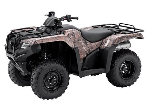 2015 Honda FourTrax® Rancher® 4x4 DCT EPS (TRX420FA2F) in Prosperity, Pennsylvania