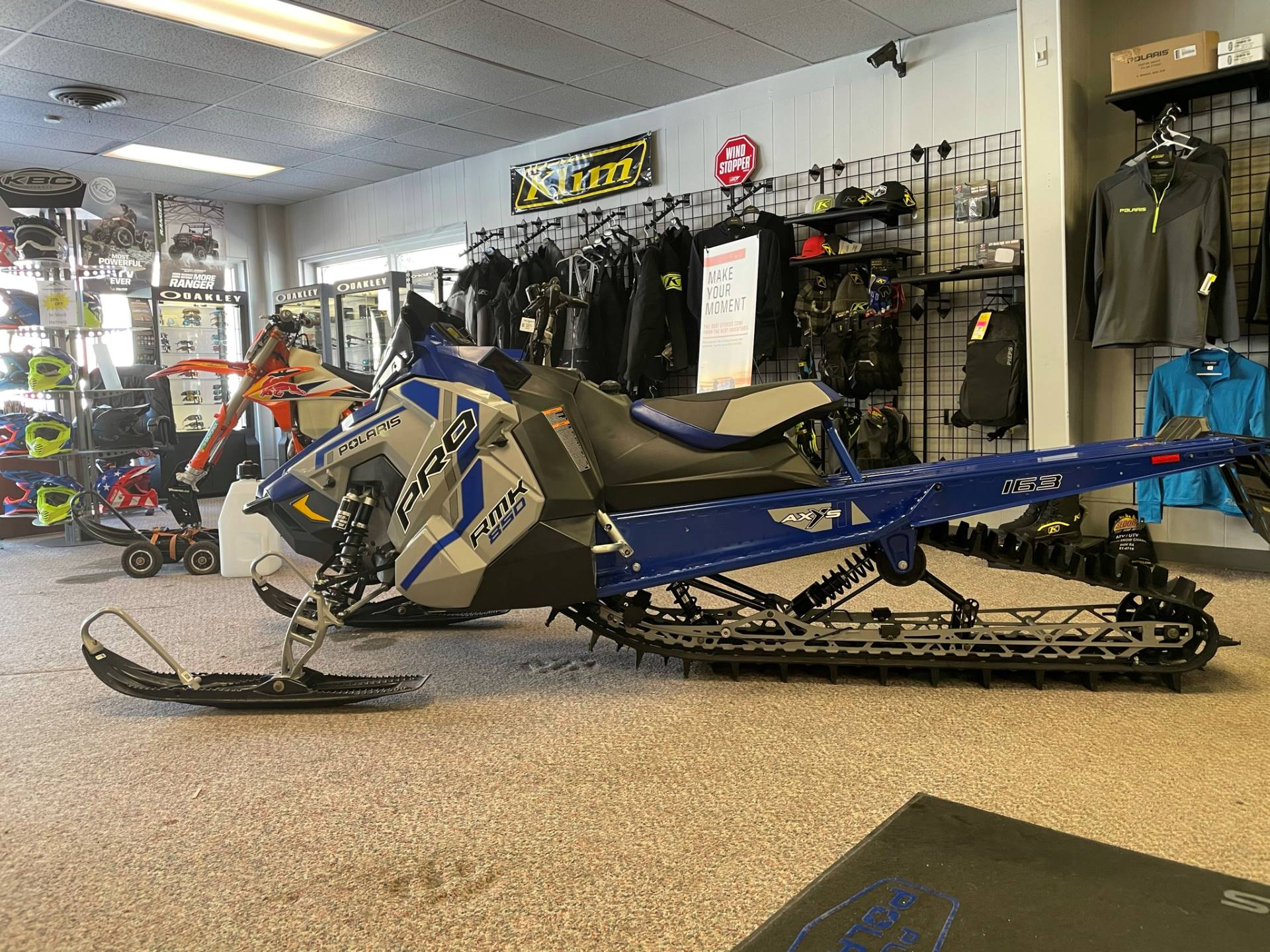 2021 Polaris 850 PRO RMK 163 2.6 in. Factory Choice in Rock Springs, Wyoming - Photo 1