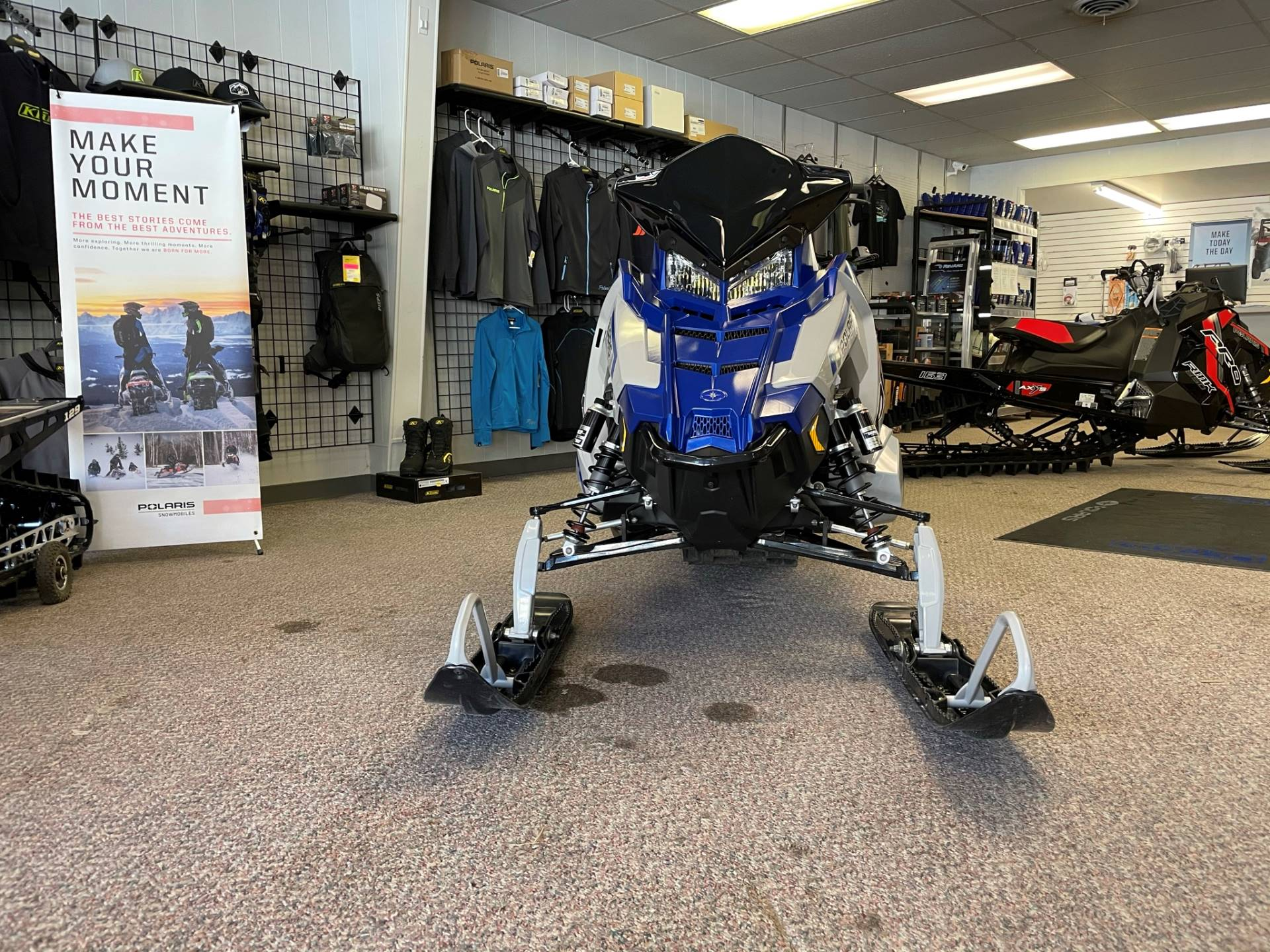 2021 Polaris 850 PRO RMK 163 2.6 in. Factory Choice in Rock Springs, Wyoming - Photo 3