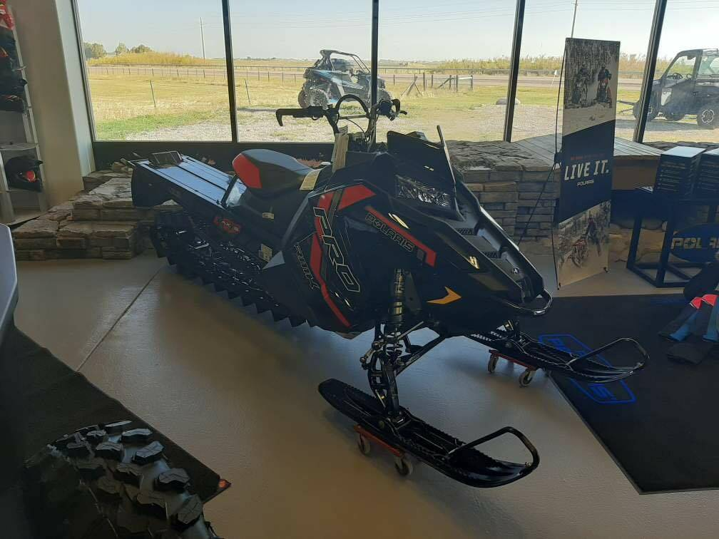 2021 Polaris 850 PRO RMK 163 3 in. Factory Choice in Mountain View, Wyoming