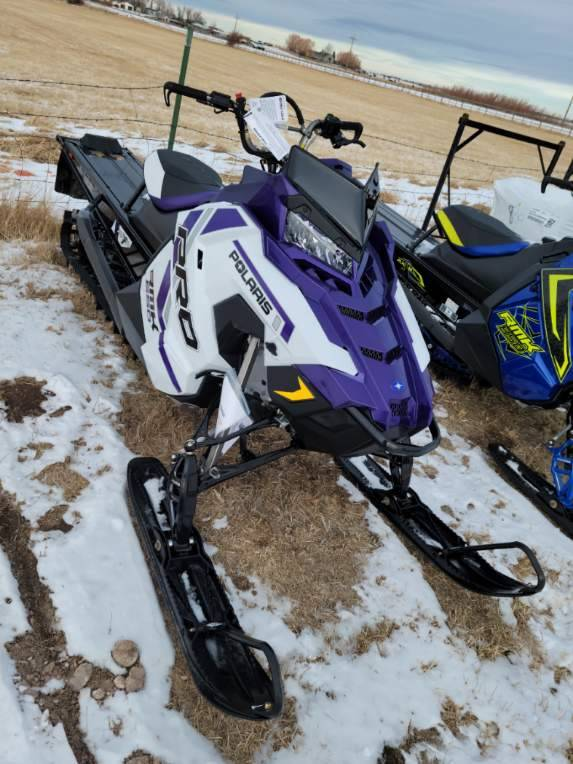 2021 Polaris 850 PRO RMK 163 3 in. Factory Choice in Mountain View, Wyoming - Photo 1