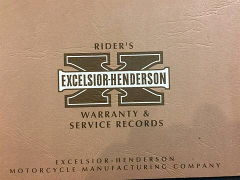 2000 Excelsior Henderson Super X in Auburn, Washington