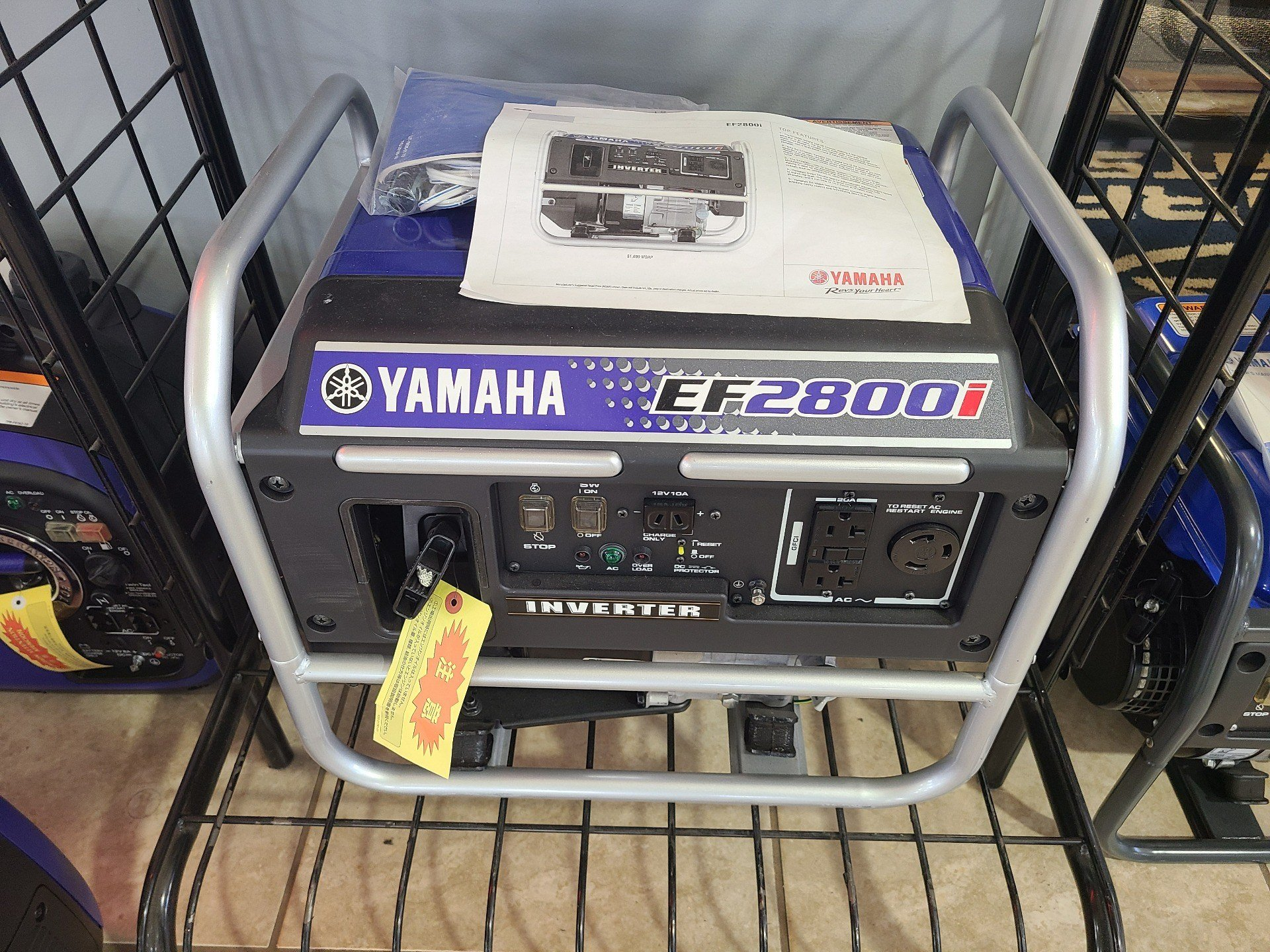 Yamaha EFD28IX in Rogers, Arkansas