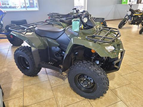 2021 Suzuki KingQuad 400FSi in Rogers, Arkansas - Photo 1