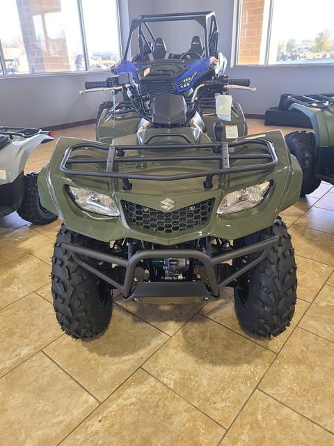 2021 Suzuki KingQuad 400FSi in Rogers, Arkansas - Photo 2
